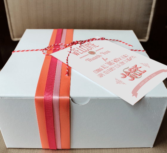 Coral Reef - Ultimate Newport Gift Bag | The Newport Bride