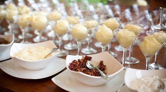 Mashed Potato Bar | The Newport Bride