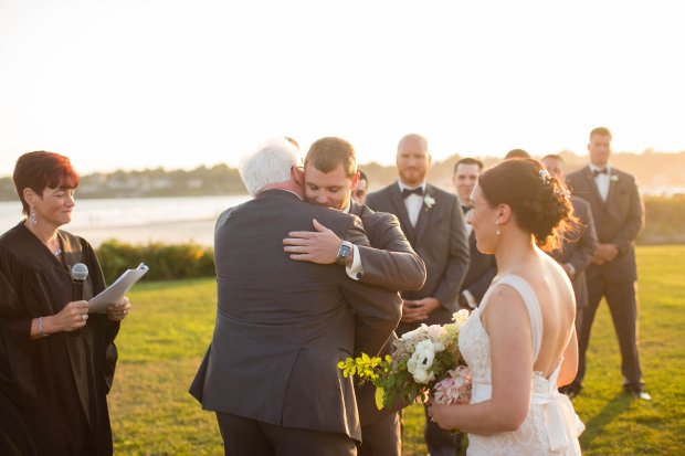 Stephanie and Tim's Atlantic Beach Club Wedding | The Newport Bride