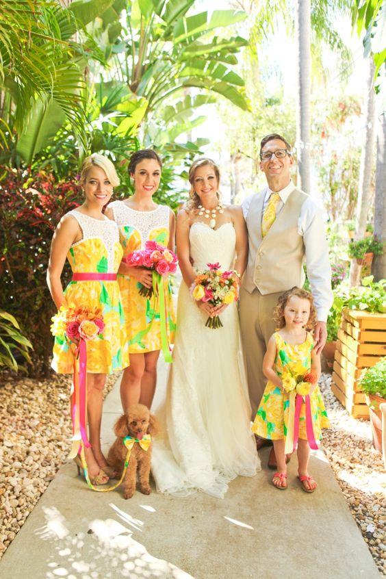 Lilly Pulitzer Wedding   The Newport Bride