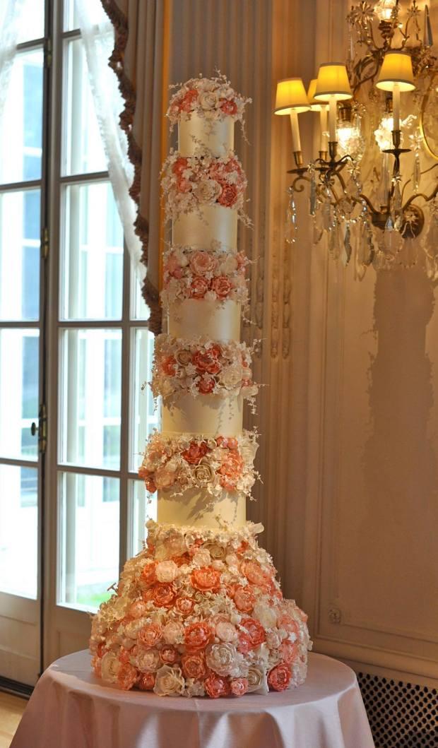 Wedding Cake Trends - Sugar Flowers   The Newport Bride