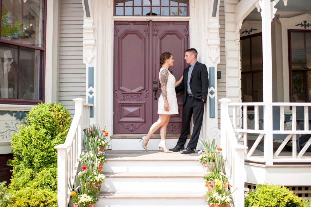 Nantucket Engagement Styled Shoot | The Newport Bride