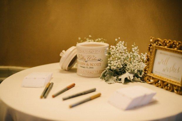 Colleen and Scott's Winter Wedding at OceanCliff | The Newport Bride