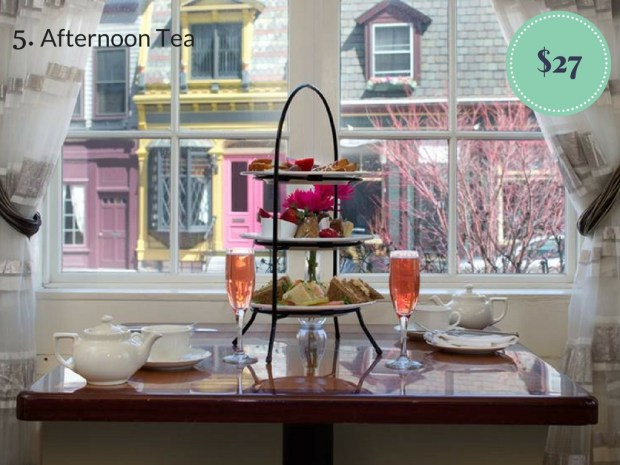 Afternoon Tea on the The Newport Bride Holiday Gift Guide | The Newport Bride