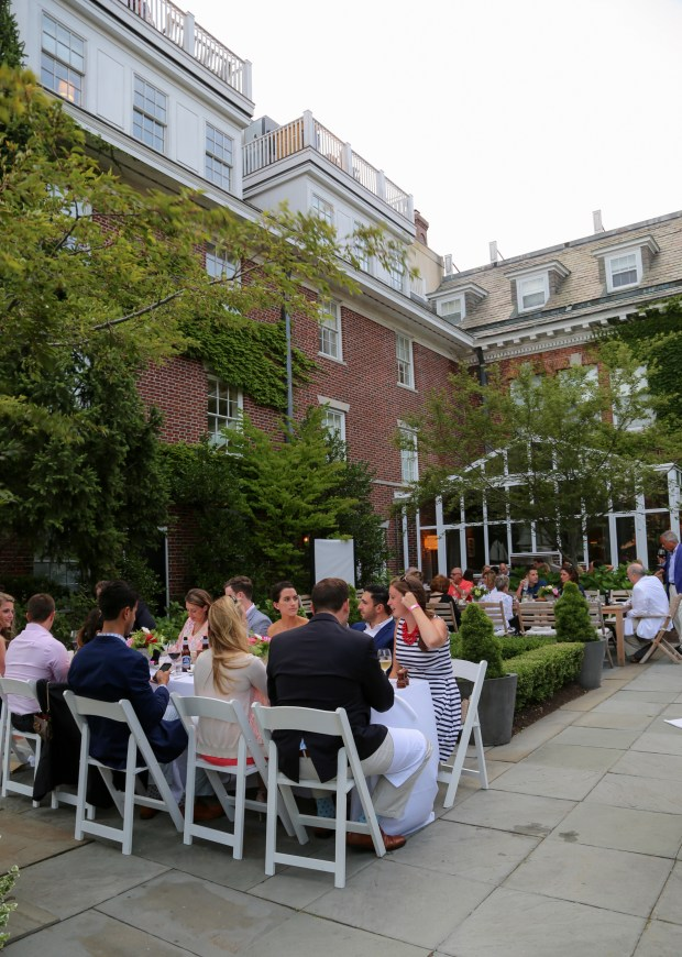 Alexandra and Todd's Vanderbilt Grace Rehearsal Dinner