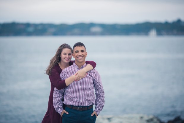 Charlie and Lisa's Engagement Pictures | The Newport Bride