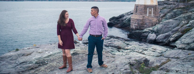 Charlie and Lisa's Newport Engagement Shoot | The Newport Bride