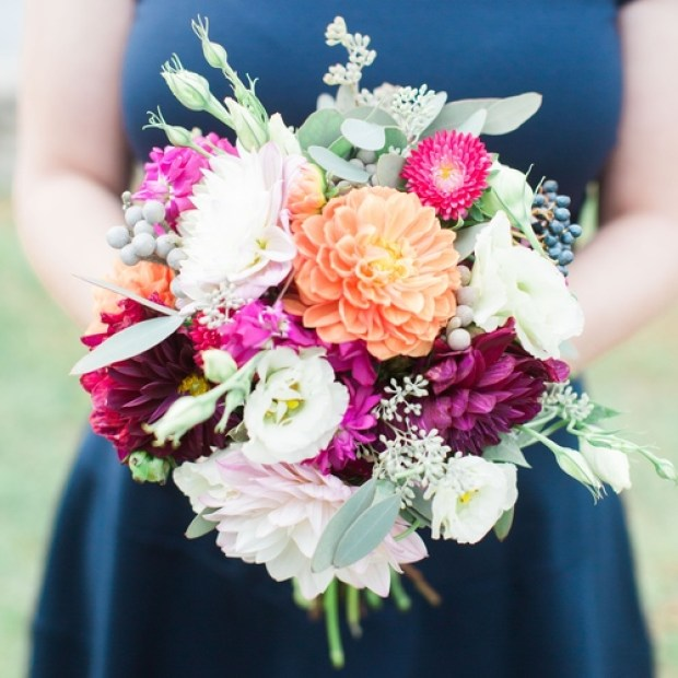 Day 12 of the 12 Days of Christmas Giveaway is a custom floral class from The Local Bouquet   The Newport Bride