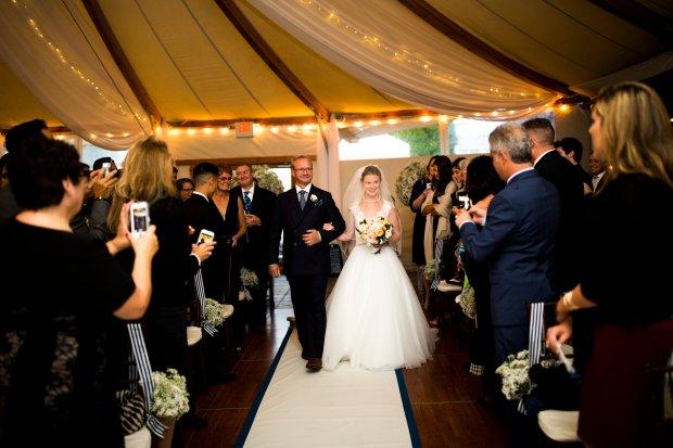 Julianne and Mike's Castle Hill Inn Wedding on The Newport Bride