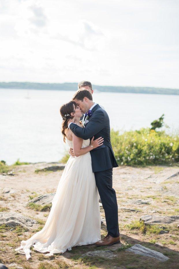 Tasha and Mike's Intimate Castle Hill Inn Wedding