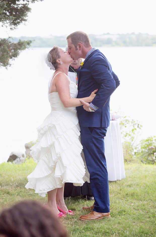 Rustic Rhode Island Mount Hope Farm Wedding on The Newport Bride