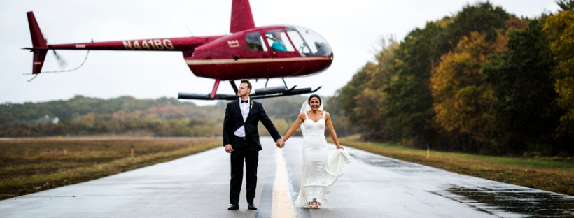 This chic modern wedding had a stunning reception in an airplane hanger and we're obsessed. This couple is effortlessly perfect and we can't get enough.