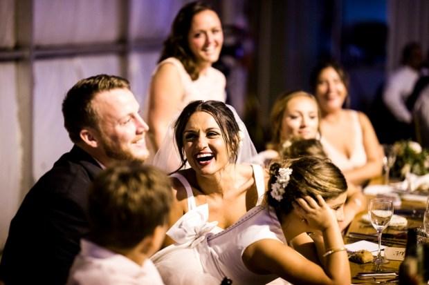 Modern Wedding in an Airplane Hanger on The Newport Bride