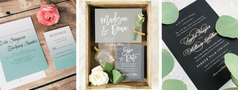 Wedding Invitation Designs: What's Trending? @BasicInvite shared their insider scoop!