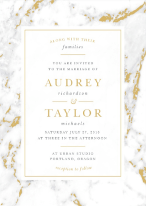 4 Invitation Trends on The Newport Bride