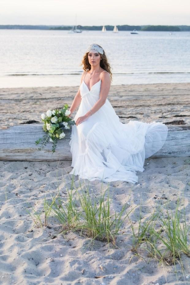 Sea Side Siren Bride Styled Shoot on The Newport Bride