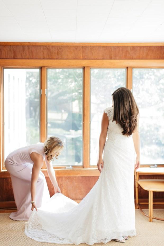 Michaela and Matt's Intimate Castle Hill Inn Wedding