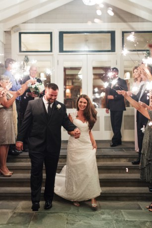 Michaela and Matt's Intimate Castle Hill Inn Wedding on The Newport Bride