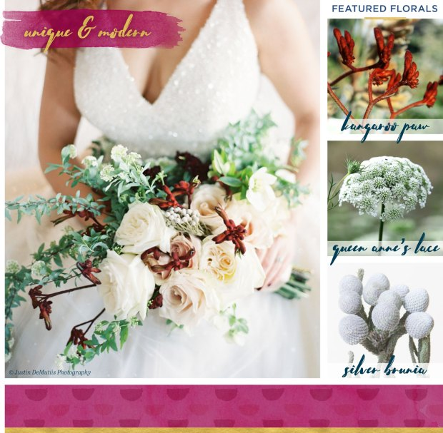 5 Luscious Fall Bridal Bouquets on The Newport Bride