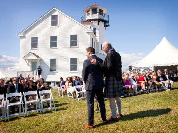 Claire and Tyler's Block Island Wedding on The Newport Bride