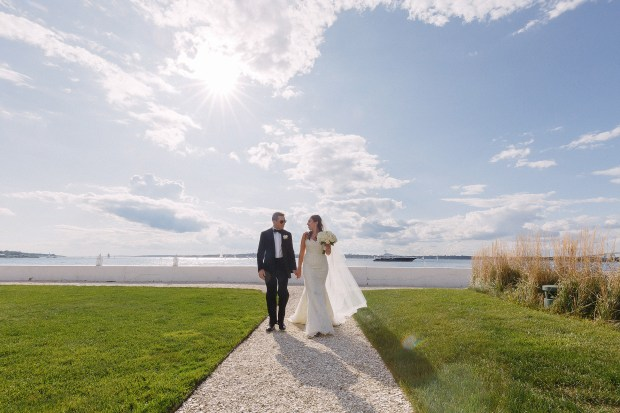 Jacki and Michael's Belle Mer Wedding on The Newport Bride