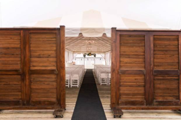 Holly + Nick's Regatta Place Wedding on The Newport Bride