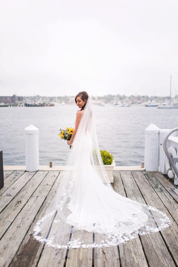 Holly + Nick's Regatta Place Wedding on The Newport Bride