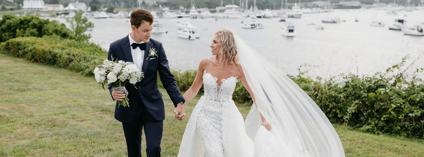 Hayley and Mike's Block Island Wedding at The Sullivan House
