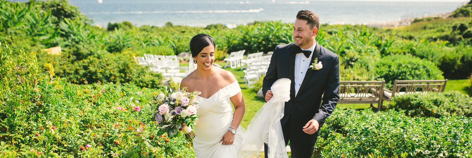Donna and Kevin's Ocean House Wedding