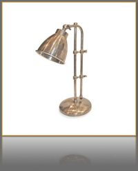 Industrial Style Adjustable Desk Lamp - The New Rustic