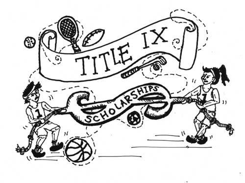 Title IX causes unequal scholarship distribution