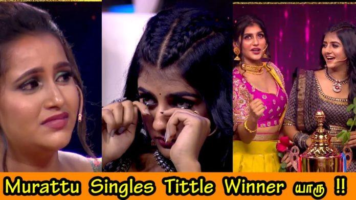 Murattu Singles Grand finale winner runner up