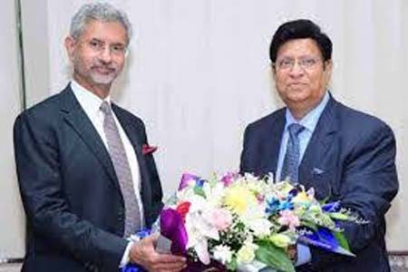 Bangladesh India Foreign Ministers meet for Joint Consultative Commission