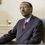 Paul Kagame on a 2006 White House Visit