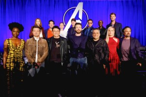 Cast members Avengers Endgame