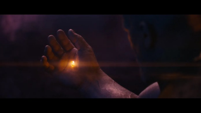 Soul Stone in Thanos hand