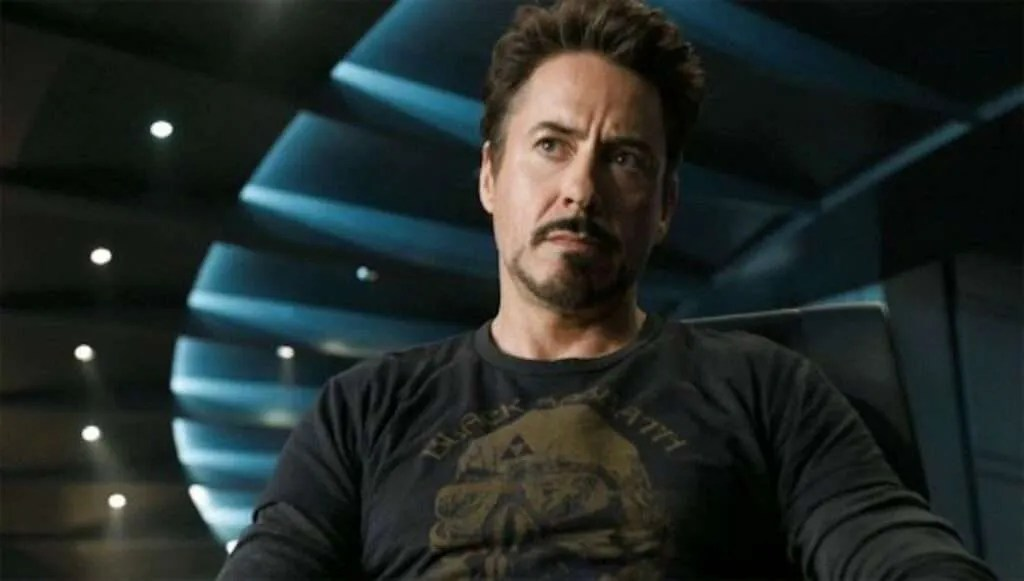 Robert Downey jr as Tony Stark