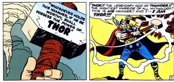 Thor's Mjolnir-Marvel weapon