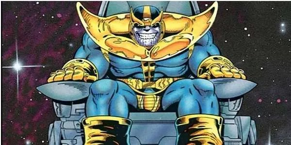 Thanos' Space Throne