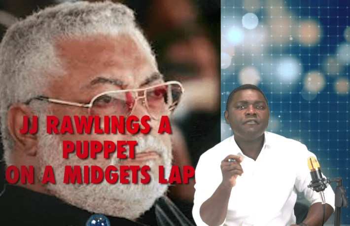 """Kelvin Baidoo Taylor, a social media commentator in charge of a Facebook page """"With All Due Respect""""  has gone after the ex-president of Ghana, labelling him as a """"hypocrite."""