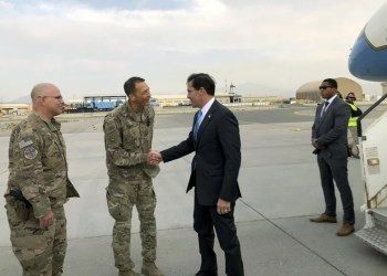 Defense Secretary Mark Esper Visits Afghanistan to Chart a Path Forward