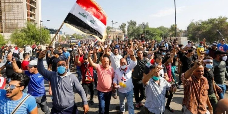 Iraq, Two killed, 26 wounded as protests flare again in Iraq