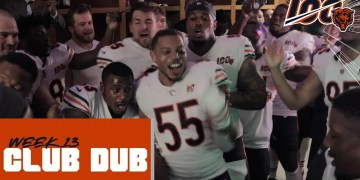 Latest News: Club Dub | Week 13 locker room celebration – Chicago Bears