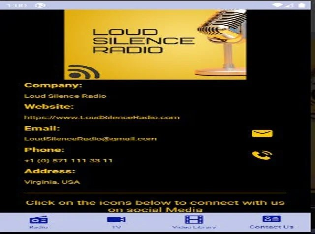 Loud Silence Radio App