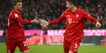 Bayern, Bayern record 34-year Bundesliga high as Lewandowski matches Gerd Muller goal feat