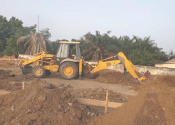 Construction of COVID-19 epidemic centre begins at Korle Bu