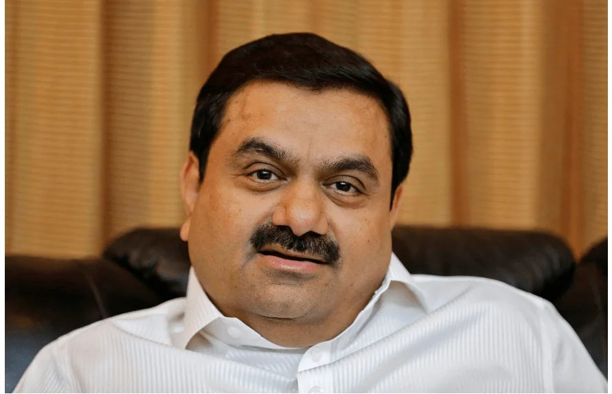 Gautam Adani of Net worth: $13.7 billion falls in the fifth position