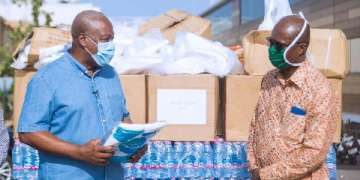 PPE donation, Ghanaians need help now, not futuristic salary contributions -Mahama defends PPE donation