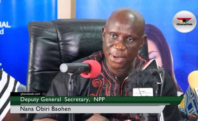 obiri boahen, Obiri Boahen: We'll beat anyone who disrupts voters' register compilation