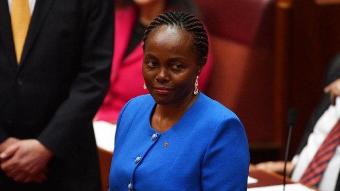 ImageFile: Australia swears in first black African senator, Lucy Gichuhi